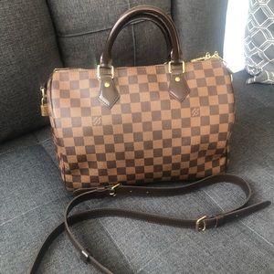 Louis Vuitton Bags - Authentic Louis Vuitton speedy 30 and boundiere